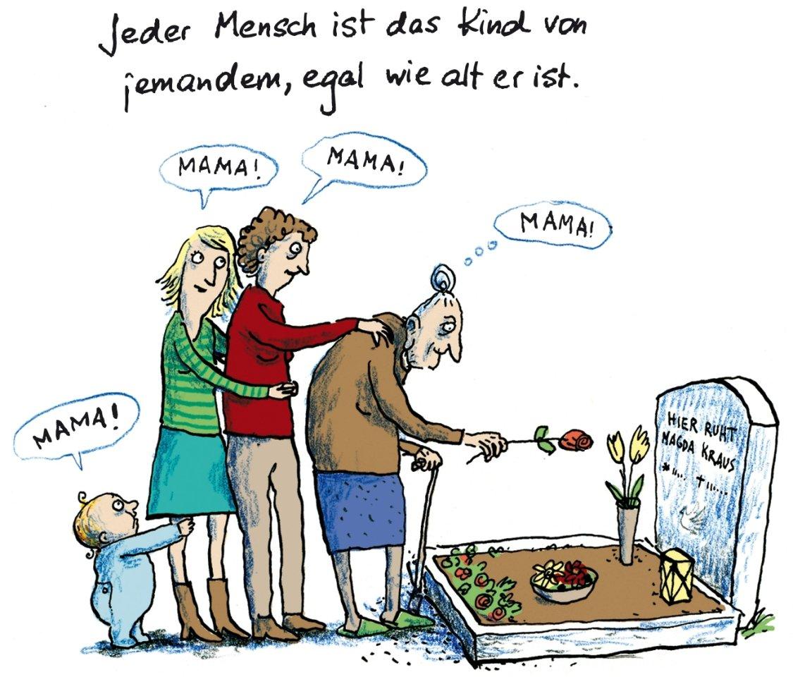 """Illustration aus """"Alles Familie"""" von Alexandra Maxeiner und Anke Kuhl, Klett, 32 Seiten, 13,90 €, ab 5."""