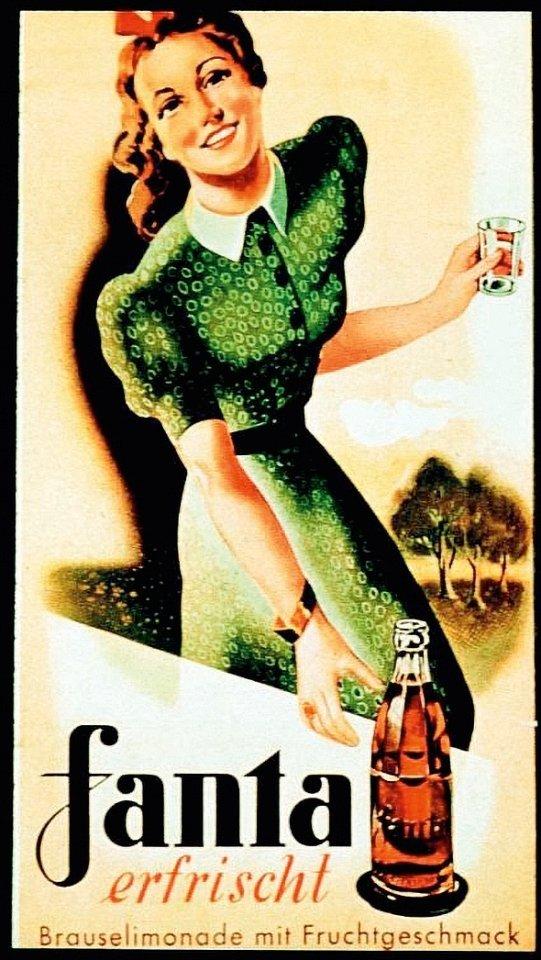 Die Fanta war in Kriegszeiten als Ersatz für die Cola gedacht.