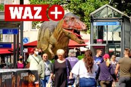 Bochumer Dino-Schau entwickelt sich erneut zum Renner