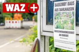 Bochum-Dahlhausen: Ruhrort-Anwohner schlagen nach Flut Alarm