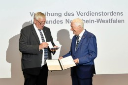 Bochum: Verdienstorden für ehemaligen Bergmannsheil-Direktor