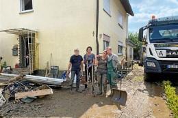 Nach der großen Flut rollt die Hilfe aus Kirchhellen