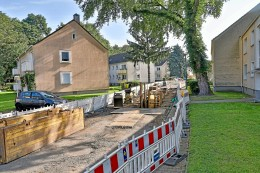 Bauarbeiten in Ebel: Straßen werden für zwei Wochen gesperrt
