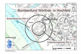 Live-Ticker! Bombe in Duisburg-Hochfeld gefunden