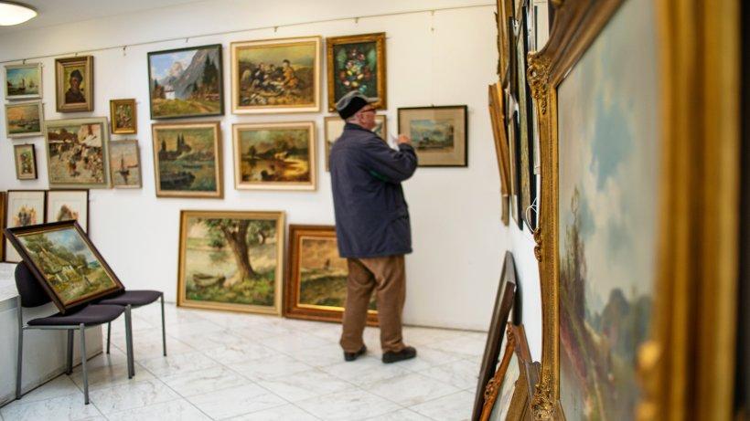 Gemäldebörse: 158 Bilder standen in Rees zum Verkauf - WAZ News
