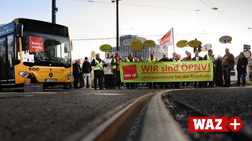 Streik öffentlicher Nahverkehr