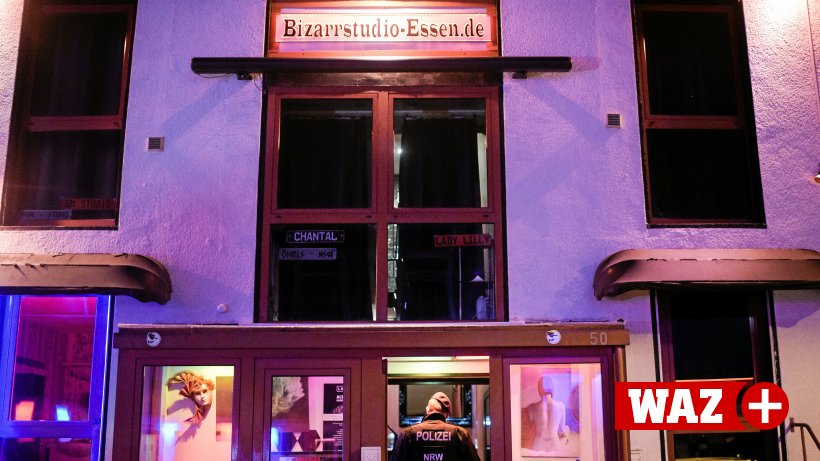 Essen: Große Rotlicht-Razzia - Behörden schließen Bordell