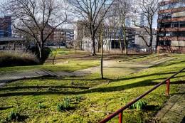 Essener Waldthausenpark wegen Bauarbeiten zeitweise gesperrt