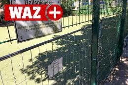Essen-Holsterhausen: Bolzplatz nach Vandalismus gesperrt