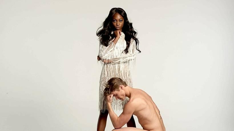 Germanys Next Topmodel Nacktes Männer Model Macht Mädchen Nervös