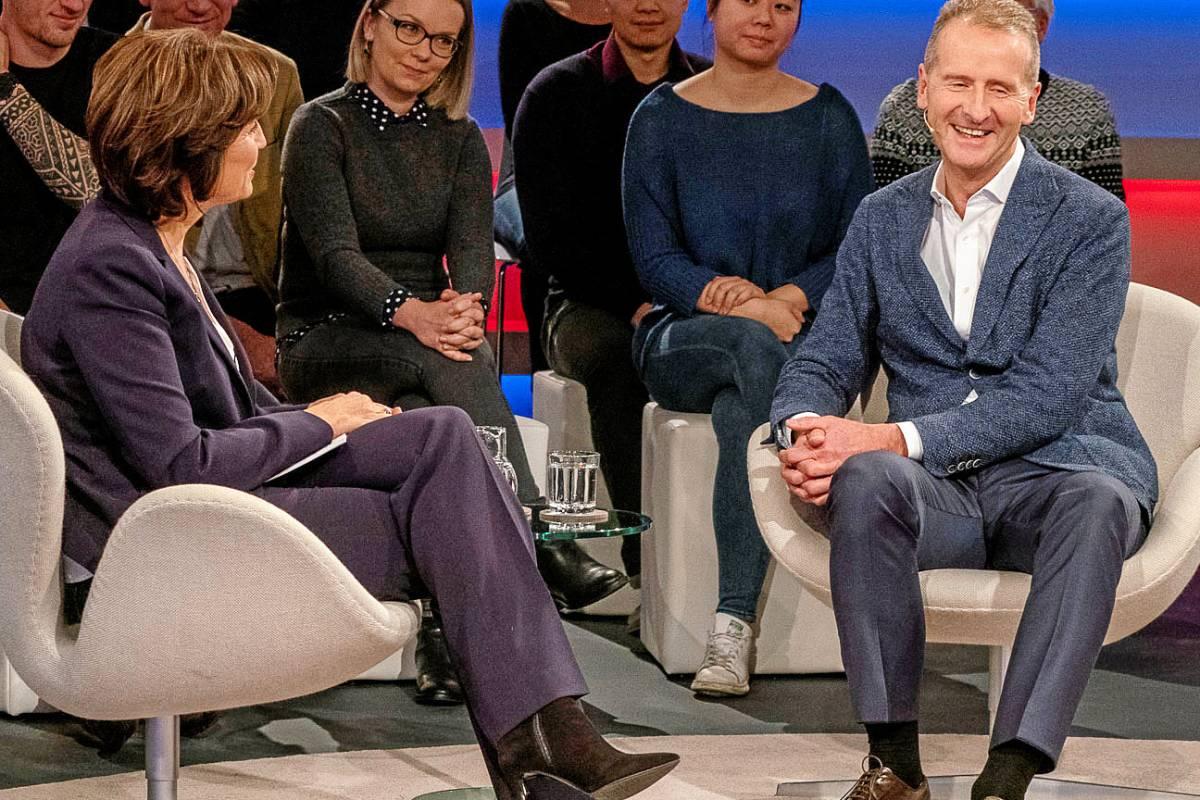 Maischberger Vw Chef Sieht Rosige Zukunft Fur Eigene Branche Waz De