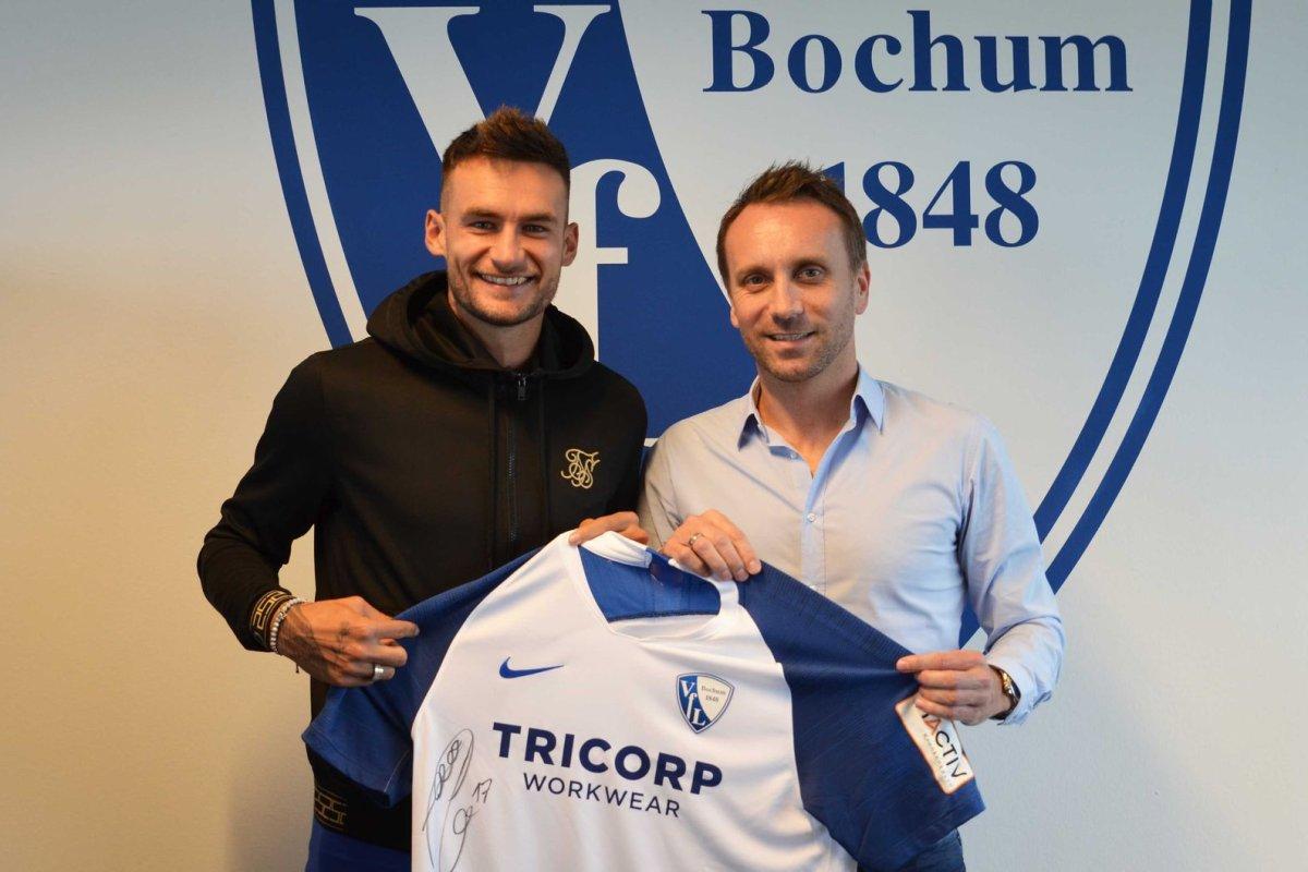 VfL Bochum verpflichtet Frankfurt-Flitzer Danny Blum