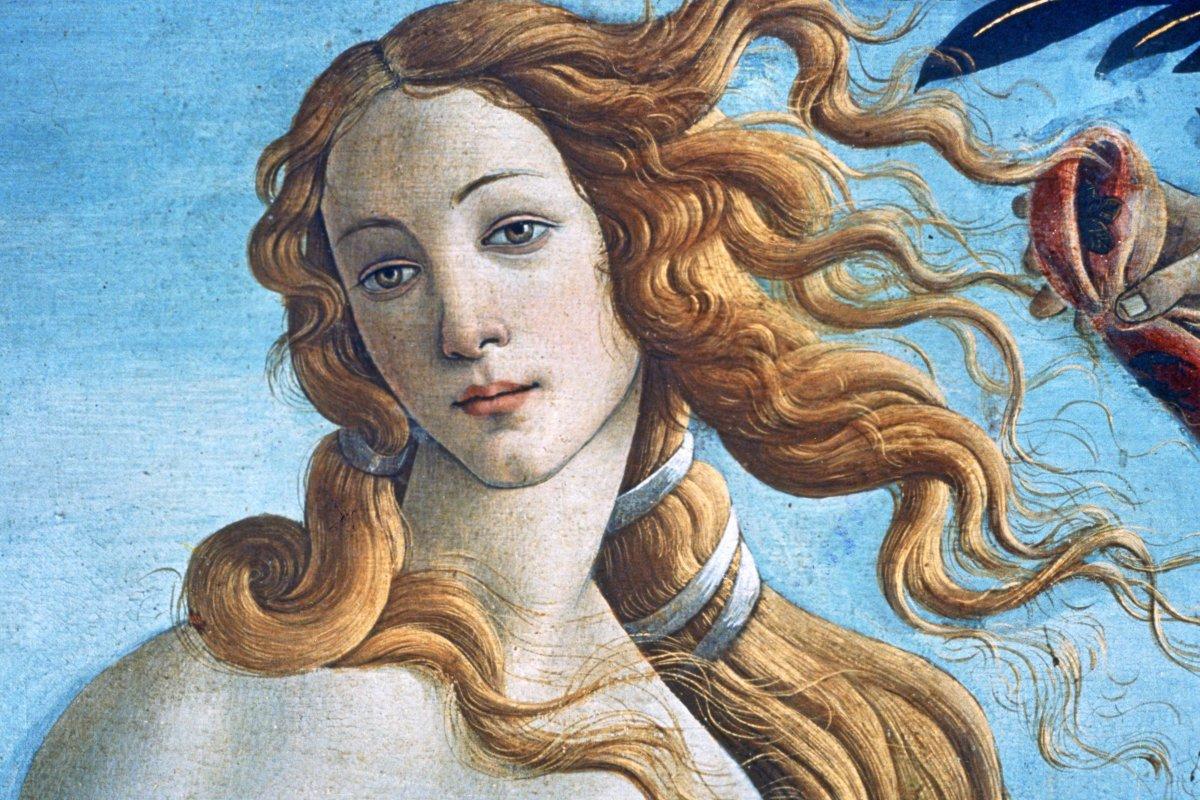 Im Café Botticelli sind Venus und Frühling den Gästen nah