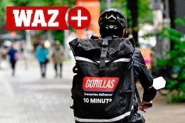 Gorillas: Kuriere liefern in Gelsenkirchen Waren im Eiltempo