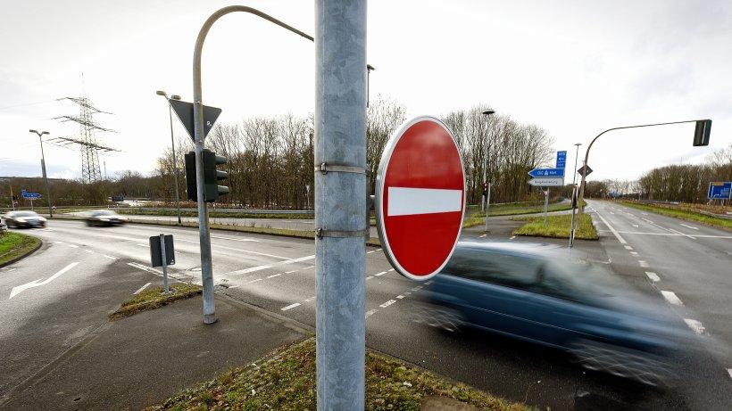 Falschfahrer auf A52: Polizei stoppt Betrunkenen in Gladbeck - WAZ News