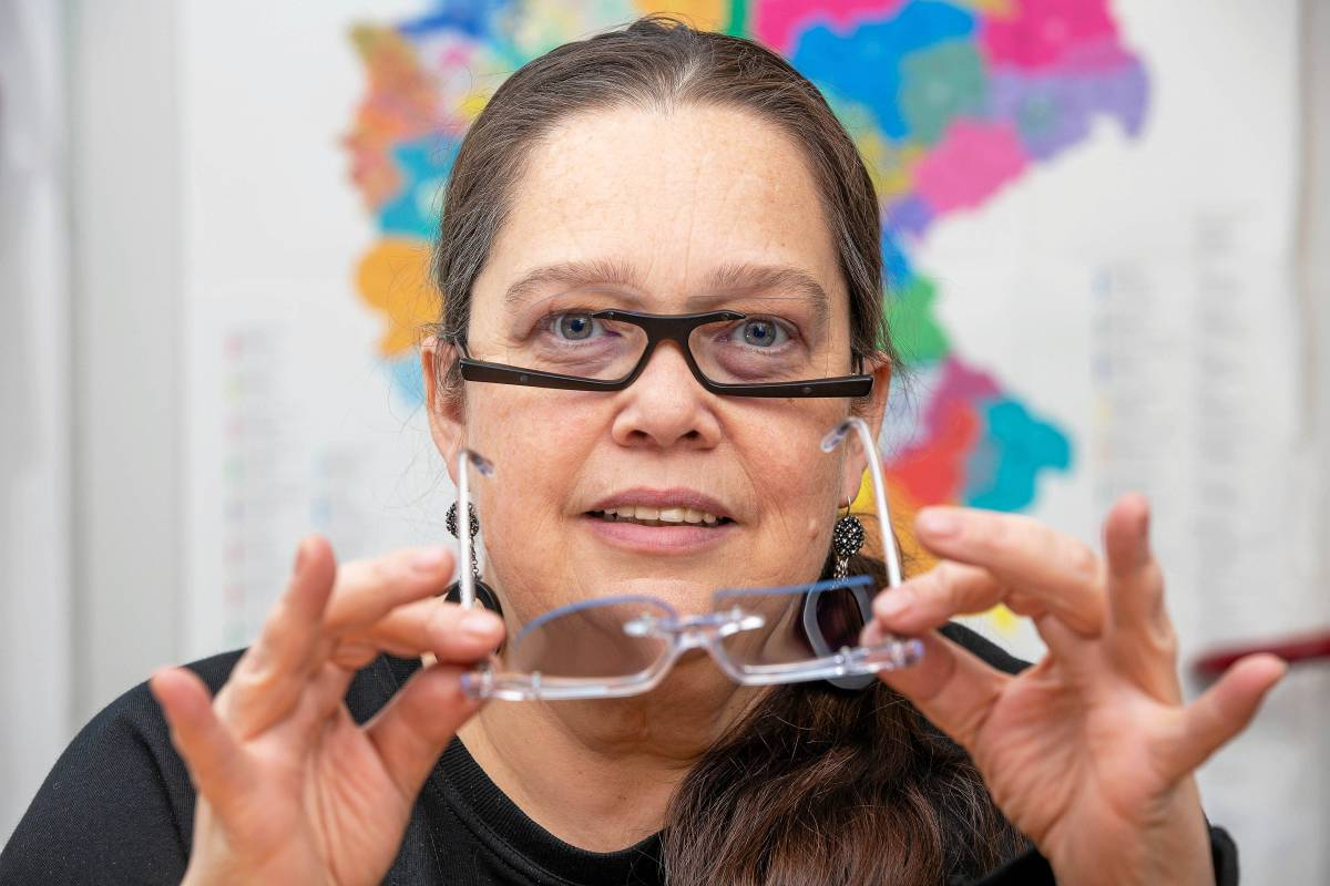 Hattingen Die Schrage Designer Brille Ist Ihr Markenzeichen Waz De