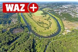 Beim Umbau der Ruhr in Hattingen ist auch Hitze ein Thema