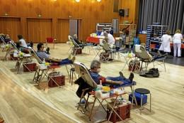 Jetzt wieder Blut spenden in der Heiligenhauser Aula