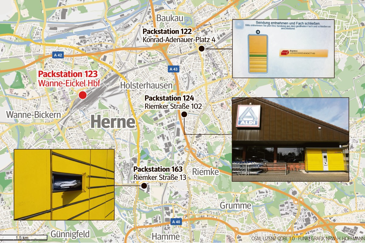 dhl packstation bochum