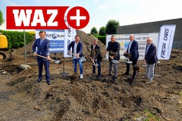 Fresh Cars: Bauarbeiten für neuen Standort in Herne begonnen