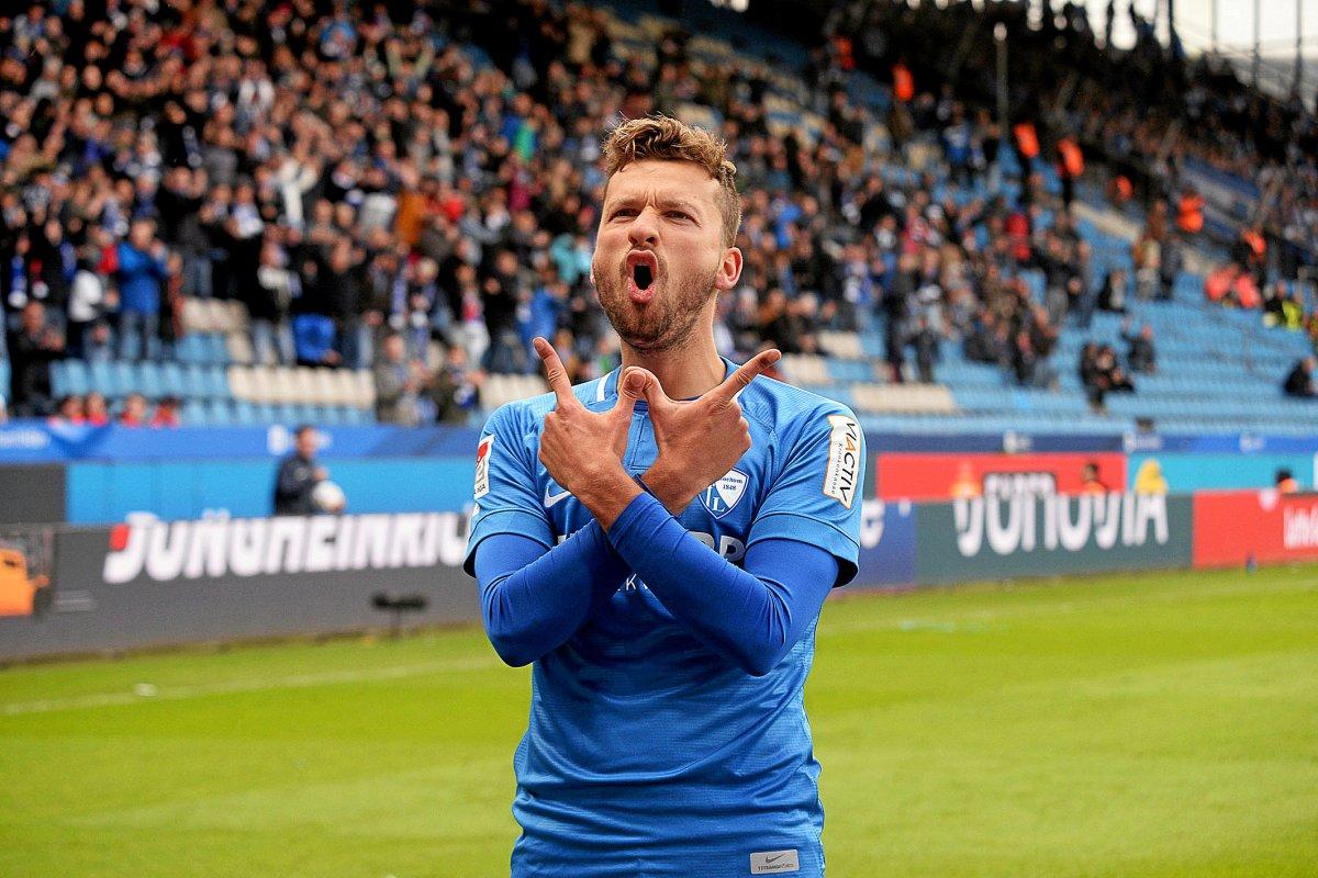 Stürmer Tom Weilandt ist Bochums Fan-Liebling