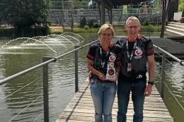 Triathlon: Elke Gnacke und Stefan Hilger meistern Langdistanz in Roth