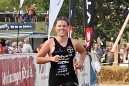 Cross-Triathlon: Neukirchen-Vluyn: Deutsche Meisterin Anna Pauline Saßerath
