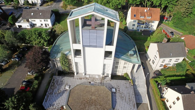 Moderne Stadtkirche wird Denkmal - Westdeutsche Allgemeine Zeitung