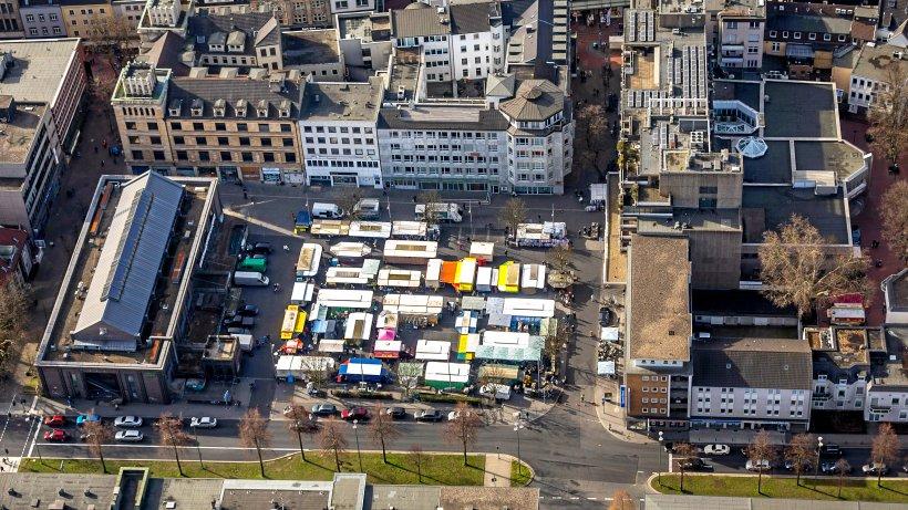 Verwaltung plant Toilettencontainer für den buerschen Markt - WAZ News