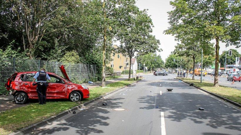17.000 Euro Schaden: Bochumerin in Herne schwer verletzt