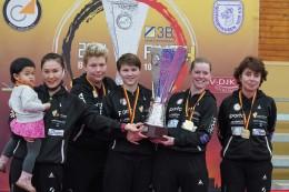 Tischtennis: Jessica Göbel gewinnt mit Berlin den DTTB-Pokal