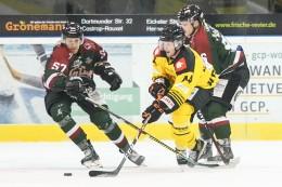 Eishockey - Oberliga Nord: Herner EV findet gegen Krefeld den