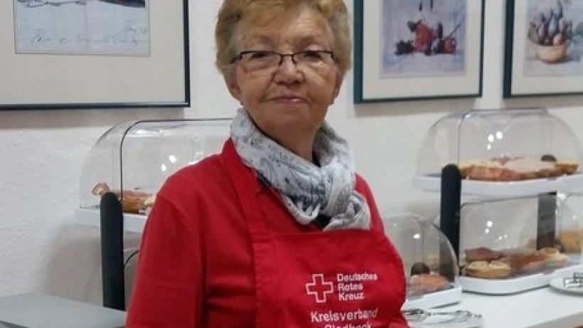 DRK Gladbeck gratuliert Irmgard Bellingröhr zum Geburtstag