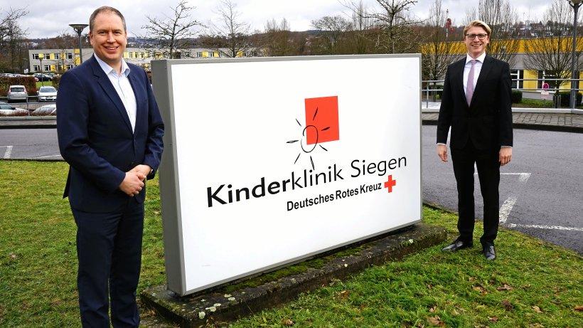 Siegen: Carsten Jochum wird Geschäftsführer der Kinderklinik