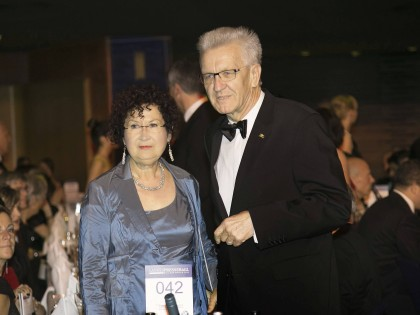 Winfried Kretschmann Ehefrau Gerlinde Ist An Brustkrebs Erkrankt Waz De