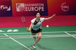 Titelkämpfe in Kiew: Lamsfuß im im Halbfinale der Badminton-EM- Aus für Li