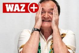 Quentin Tarantino in den Kulissen von Boss Angeles
