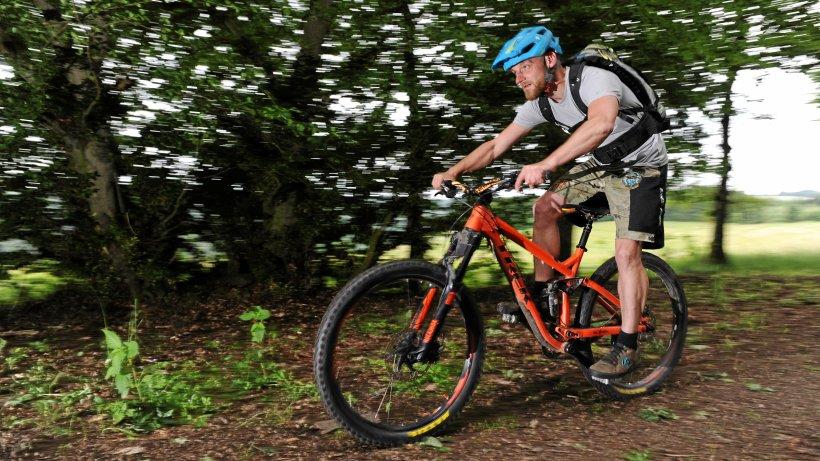 Die Mountainbiker starten durch - Westdeutsche Allgemeine Zeitung