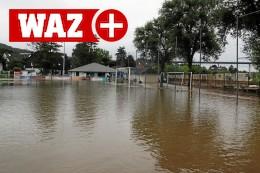 So ist der Stand nach dem Hochwasser bei Blau-Weiß Mintard