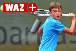 Mülheimer Tennis-Talent feiert zweiten Sieg in den Ferien