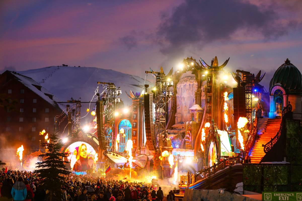 Tomorrowland mainstage 2020