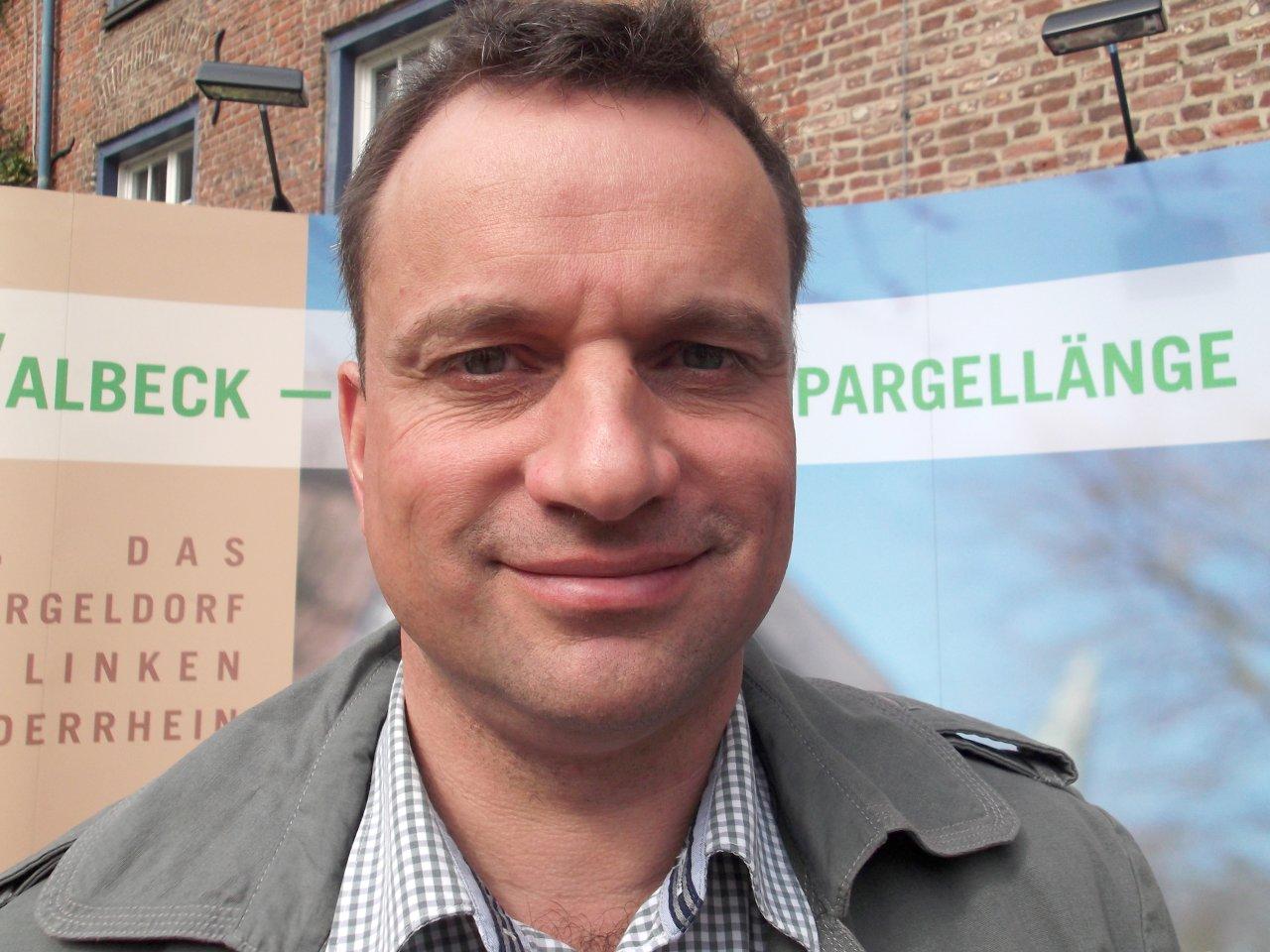 Spargelbauer Stephan Kisters ist Vorsitzender der Spargelbaugenossenschaft Walbeck.
