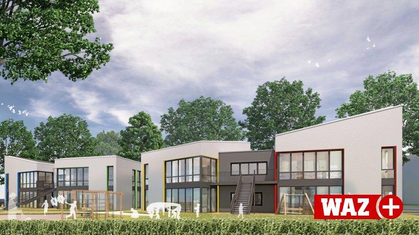 Für drei Millionen Euro entsteht große Kita in Oberhausen