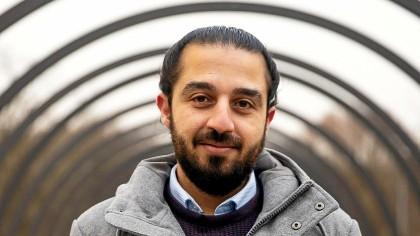 Tareq Alaows ist der gemeinsame Kandidat der Grünen aus Dinslaken und Oberhausen für die Bundestagswahl 2021