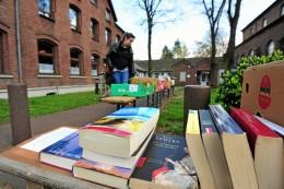 Alstaden: Bücherbasar nach Corona-Zwangspause wieder präsent