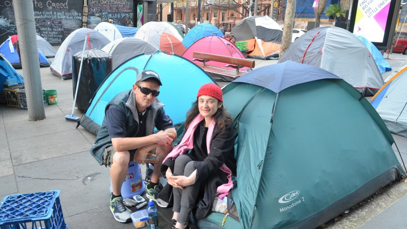 hohe mieten in sydney obdachlose campen im luxusviertel panorama. Black Bedroom Furniture Sets. Home Design Ideas