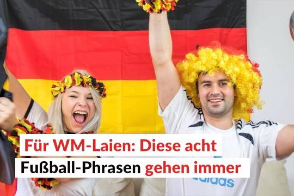 Für WM-Laien: Diese acht Fußball-Phrasen gehen immer | waz.de | Panorama