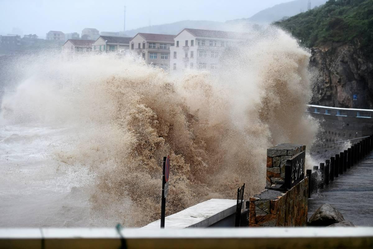 Bildergebnis für r Todesopfer durch einen starken Taifun, der den Südosten Chinas