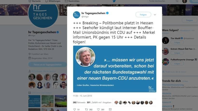 Satiremeldung Sorgt Für Wirbel U2013 So Verteidigt Sich Twitter | Waz.de |  Politik