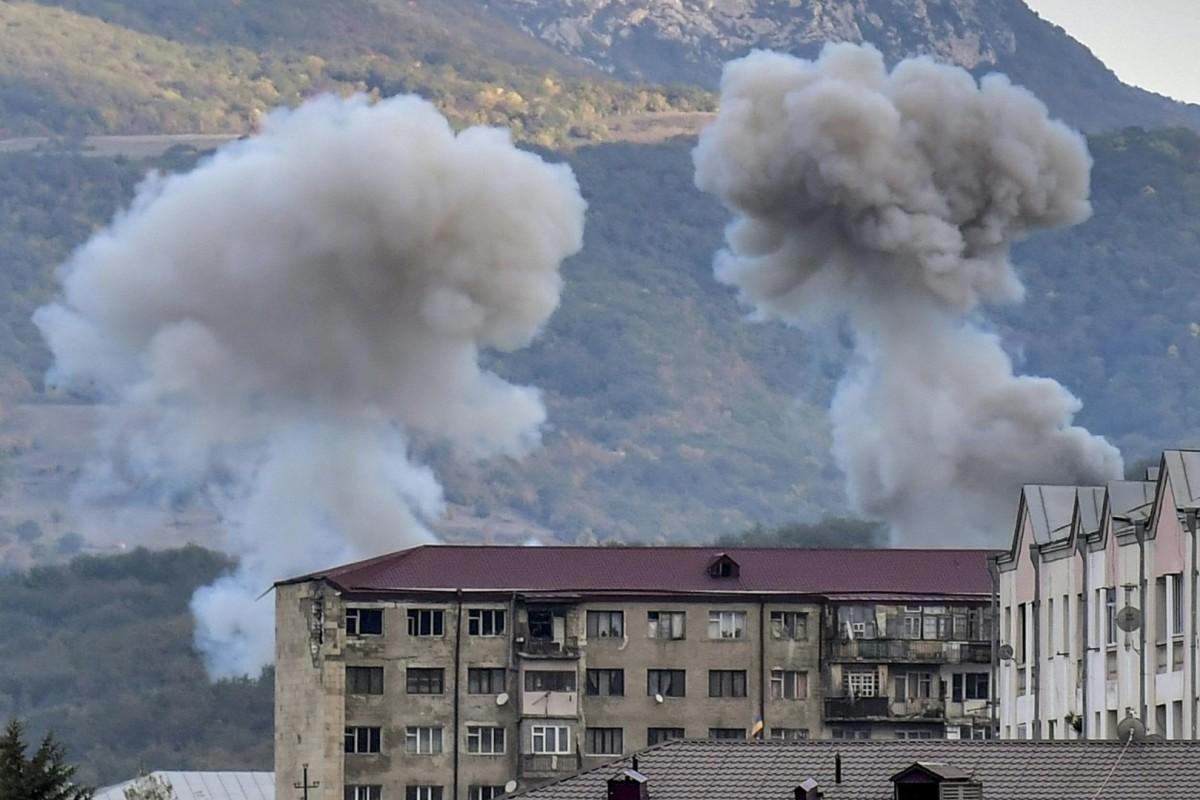 Neue Kampfe Um Berg Karabach Kurz Vor Inkrafttreten Von Waffenruhe Waz De